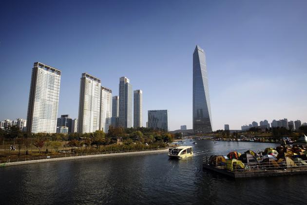 Songdo City, a Smart City in South Korea